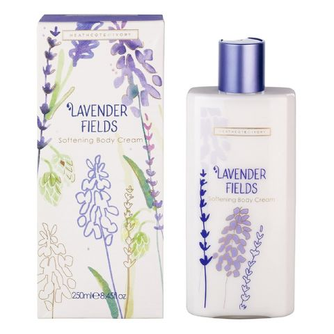 Lavender Fields Body Cream 250ml Heathcote & Ivory